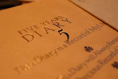5年連用日記は1年前の自分と現在の自分を比較できる最高のツールだ!